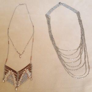 Bundle AEO long necklaces
